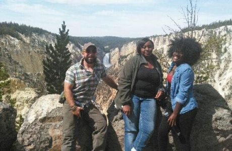 Green Team at Yellowstone National Park